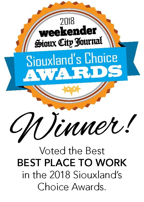 Siouxland Employer of Choice Winner