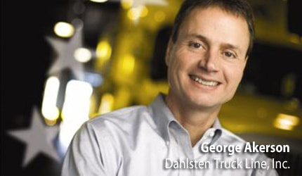 George Akerson - Dahlsten Truck Line, Inc.