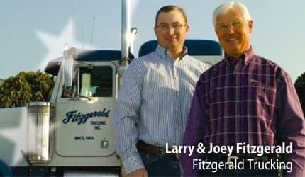 Larry & Joey Fitzgerald - Fitzgerald Trucking